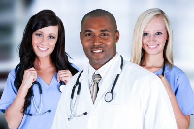 group of medical staff